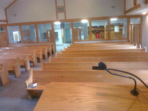 A Pulpit-Eye View of My Church